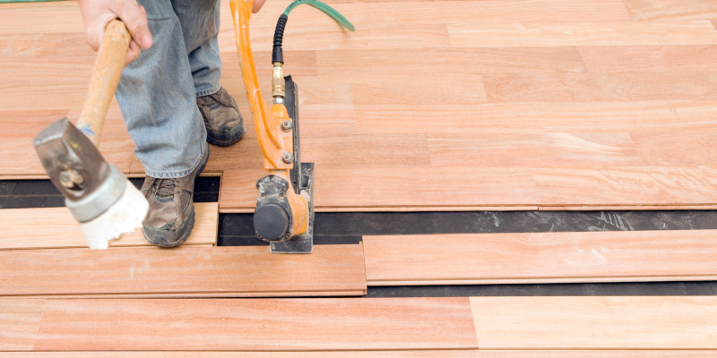 Hardwood Floor Installation in Cary, North Carolina