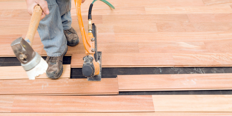 Hardwood Floor Restoration in Raleigh, North Carolina