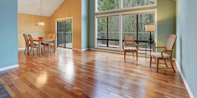 Floor Installation Estimate in Cary, North Carolina