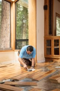 Discuss the project at length with your hardwood floor installation professional
