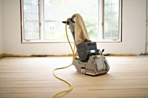 If you are due for some hardwood floor sanding